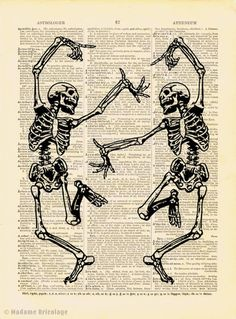 Dancing Skeletons...