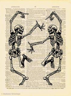 Dancing Skeletons...