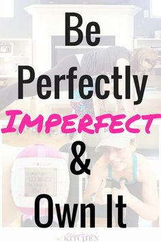 Perfectly imperfect and loving it. How I let go of body issues, focus on the positive strengths that the body provides and love me for being me. My health, my fitness and my mental wellness depend on this.
