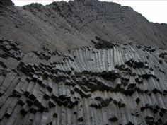 columnar cooling joints with complex geometries.  This blog is full of great examples of volcanic rocks.
