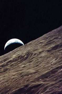 Nuestro Planeta Azul - Google+  Looking Towards Earth From #Apollo17.
