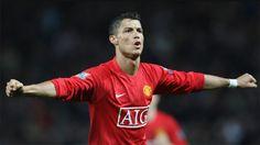 Cristiano, en un partido con el Manchester United. Foto: manutd.com
