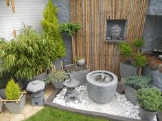 1000 images about jardin zen on pinterest zen zen gardens and bamboo planter. Black Bedroom Furniture Sets. Home Design Ideas
