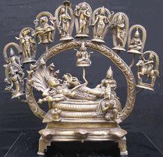 Incarnations of Sri Maha Vishnu. Indian Gods, Indian Art, Antique Metal, Antique Silver, Sculpture Art, Sculptures, Silver Pooja Items, Hindu Deities, Hinduism
