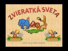 ZVÍŘÁTKA - SVĚT Dětské hry - Album uživatelky Gnome Wall ArtPřes 50 návodů na háčkování zdarma na завтра . Slovak Language, Homeschool, Nursery, Activities, Youtube, Blog, Animals, Wall Art, Bambi