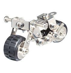 Dein Geschenk für jeden Bastel-Liebhaber und Motorrad-Fan: Ein Baukausten für ein Mini-Motorrad, <3
