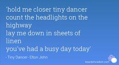 Tiny Dancer-Elton John
