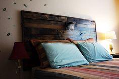 Pallet headboard by RusticRegeneration on Etsy