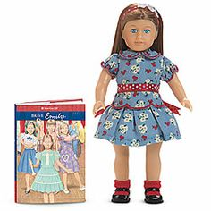 American Girl® Dolls: Emily   Granddaughter has this one as well.