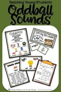 "Some common spelling patterns make no sense based on previously taught phonics rules. Not to worry! No reason for young readers to get stuck while reading- these ""oddball"" sounds can be mastered when they are taught effectively in an engaging way! This unit has everything you need to familiarize your young readers with these tricky but common spelling patterns!"
