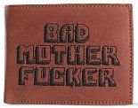 "Перейти на страницу ""Бумажник Bad Motherfucker ""Криминальное Чтиво"" (Pulp Fiction Bad Motherfucker Wallet Brown Embroidered Logo)"""