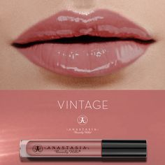Vintage on the lips. #LipGloss