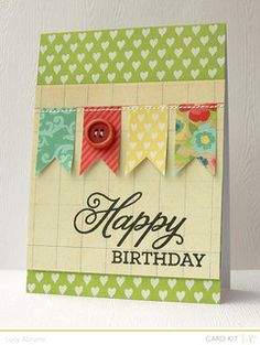 Birthday+Banner+by+LucyAbrams+at+@Studio_Calico -- cute!!