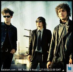 http://balakam.com/search/item?id=3529051 - Coming up just after midday: American rock band Black Rebel Motorcycle Club perform tracks from their sixth album Specter at the Feast live in session. Tune in!