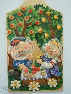 БИОКЕРАМИКА.RU (соленое тесто - мастер-классы)   ВКонтакте Paper Clay Art, Clay Wall Art, Clay Crafts, Diy And Crafts, Arts And Crafts, Fine Porcelain, Porcelain Ceramics, Clay Paint, Felt Pictures