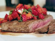This steak with strawberry-balsamic salsa is the perfect sweet-savory combination for your next outdoor barbecue. Serve with a summer slaw or chunky potato salad and a glass of light, juicy red wine. See all salsa recipes.Click here for 6 Sweet and Savory Strawberry Recipes.