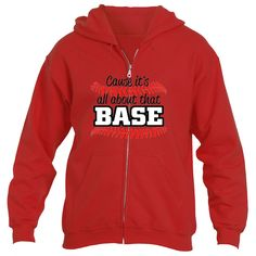 It's About That Base Heavy Blend™Fleece Zip Hoodie Underground Statements Raglan Tee, Muscle Tees, Zip Hoodie, Perfect Fit, Base, Hoodies, Sweaters, T Shirt, Shopping