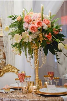 Couture events.  Candelabras available from Home Decoration Accessories.  www.hdaltd.com