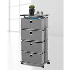 image of Winsome Trading Halifax 7-Drawer Storage Cabinet ...