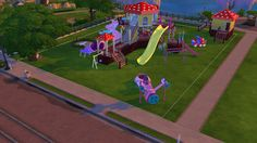 Joyful Kids Playground Set at Sanjana sims via Sims 4 Updates