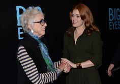 The real-life artist portrayed in 'Big Eyes' credits her newfound faith for helping her take a stand