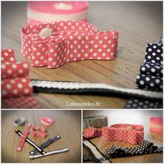 DIY : le bracelet noeud en 1 min. chrono ☆ : l'un d'entre eux avec la dentelle adhésive Lovely Tape