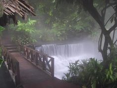 Hot springs at Arenol, Costa Rica