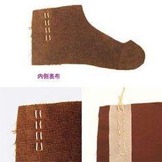 足袋の作り方の写真などをリフレッシュしてホームページに掲載しようと思っています。 撮影の機会が先になりそうなので、PDFを一旦削除しますので旧版をこちらでアップしておこうと思います。 ① 材料の用意  表布・裏布・底布・タコ糸・接着芯・コハゼ8枚  ( 型紙を手持ちの足袋を解いて作る場合は、各所の合印を忘れずに付けておく ) ② 材料をカットする  ● …