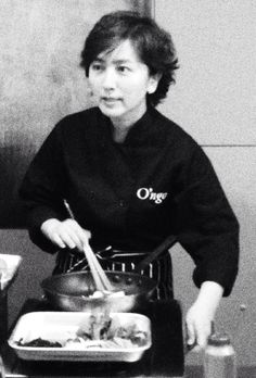 Cooking class in Seoul. She spoke perfect English, much to my relief. We ended up eating what we cooked!!!