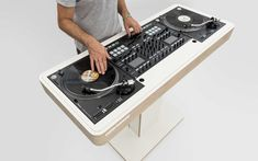 The Customized DJ Table