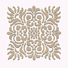 Wall Stencil | Small Sicilia Tile Stencil | Royal Design Studio