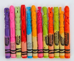 An Alphabet of Animals Carved from Crayons by Diem Chau