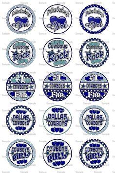 Dallas Cowboys  Bottle Cap Images 4x6 Bottlecap by designsdepot, $2.00
