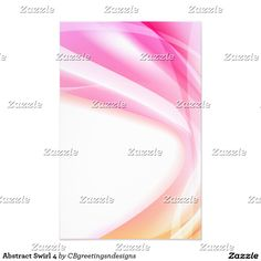 Abstract Swirl 4 Stationery