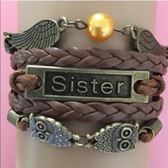 Sister bracelet 5 available New Jewelry Bracelets