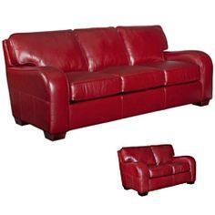 broyhill melanie red leather sofa loveseat set by broyhill. beautiful ideas. Home Design Ideas