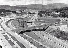 Autopistas caraqueñas, años 50.