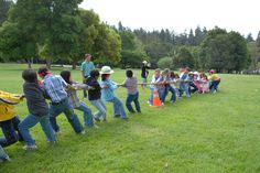 Team building activities for adults and kids