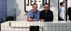 """Brian Sironi: designer of the flow series 2017  JEE-O launched a new #bathroom series, #designed by #italian #designer Brian Sironi. """"I thought about #how we #transport #water through our #houses and into our lives. What's the #shape of water? To me, the tube is the shape of water. But we never see the tube, only a faucet and they all look the same,"""" according to Brian.  #bathroom #bathroomdesign #bathroomremodel #bathtub #architecture #design"""