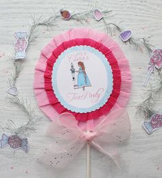 Clara oversized topper by Icing Designs