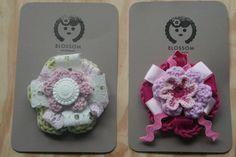 Blossom Handmade Brooches Brooches Handmade, Crochet Earrings, Jewelry, Jewlery, Jewerly, Schmuck, Jewels, Jewelery, Fine Jewelry