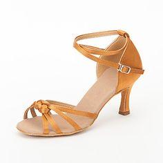 satijn+bovenste+hoge+hak+latin+dansschoenen+ballroom+latin+schoenen+voor+vrouwen+meer+kleuren+–+EUR+€+10.47
