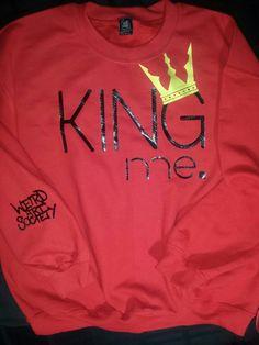 King Me Crew Neck Sweater $40 https://www.weirdartsociety.com/product/weird-art-society-king-me-carbon-fiber-sweatshirt/