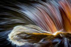 Bill Ward - Rainbow Falls. Kisdon Force, Yorkshire Dales, England