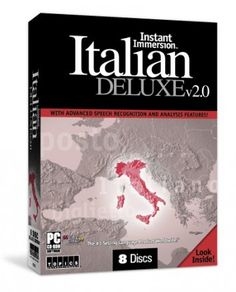 Your first-class journey to a new language is ready to commence, with Instant Immersion Italian Deluxe v2.0. Learn to speak Italian fluently with this amazing package designed to help anyone wishing to learn a new language.