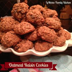 The Best Oatmeal Raisin Cookies recipe