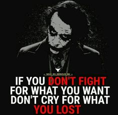 23 Joker quotes that will make you love him more ⭐NidHi⭐ Dark Quotes, Strong Quotes, Wise Quotes, Attitude Quotes, Positive Quotes, Motivational Quotes, Funny Quotes, Inspirational Quotes, Lovers Quotes
