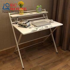 Marvelous Бесплатная установка и складной столик стиль рабочего стола Comter ноутбук  просто для детей стол БЕСПЛАТНАЯ ДОСТАВКА