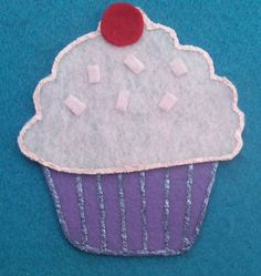 Five Little Cupcakes Flannel Board Felt Board by FunFeltStories