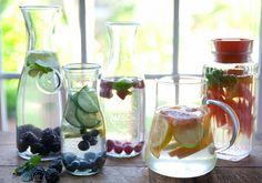 15 Flavored Water Recipes via DeliciouslyOrganic.net